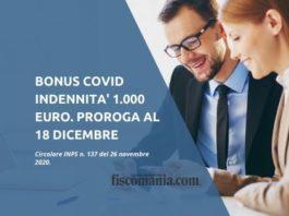 Bonus Covid