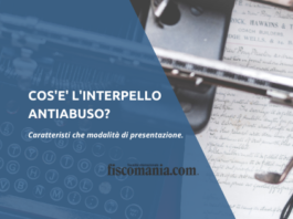 Interpello antiabuso