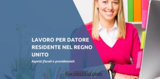 Lavoro in Italia per datore di lavoro nel Regno Unito