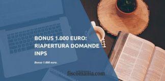 Bonus 1.000 euro