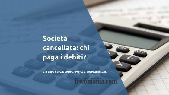 Società cancellata