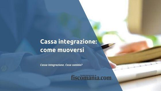Cassa integrazione