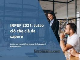 IRPEF 2021