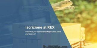 Iscrizione REX