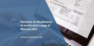 Pensione di cittadinanza