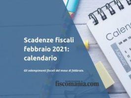 Scadenze fiscali febbraio 2021