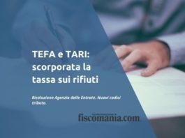 TEFA e TARI