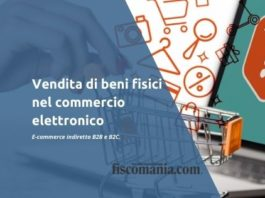 Commercio elettronico di beni fisici E-commerce indiretto