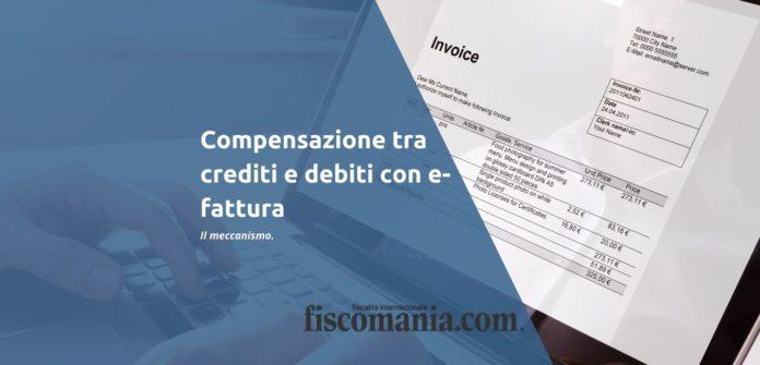 Compensazione e-fattura