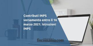 Contributi INPS