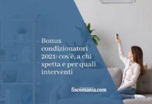 bonus condizionatori