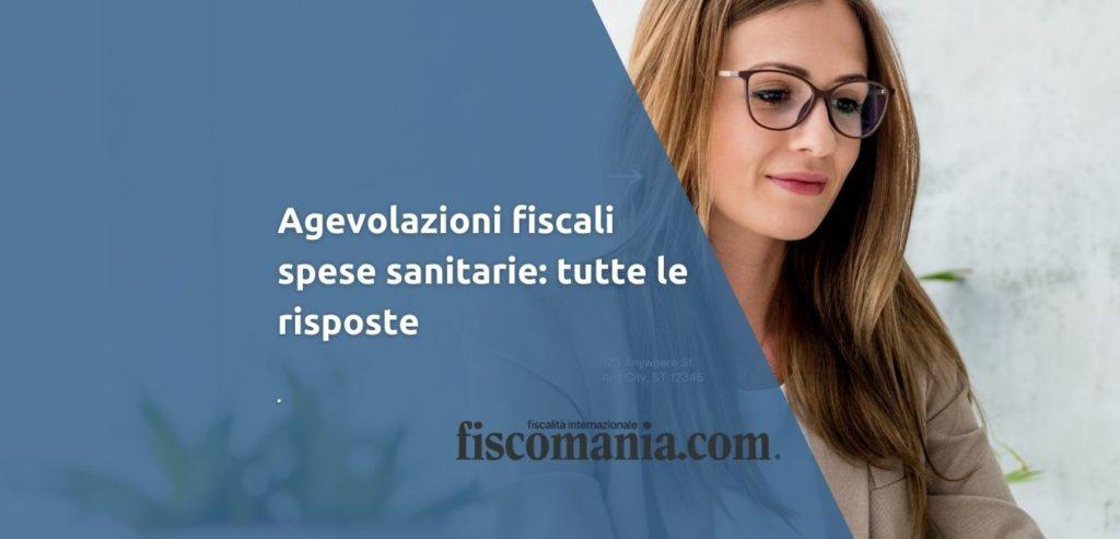 Agevolazioni fiscali spese sanitarie