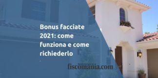 Bonus facciate 2021
