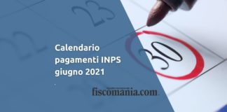 Calendario pagamenti INPS