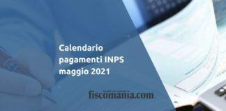 Calendario pagamenti INPS maggio