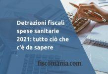 Detrazioni fiscali spese sanitarie