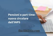 Pensioni e part time