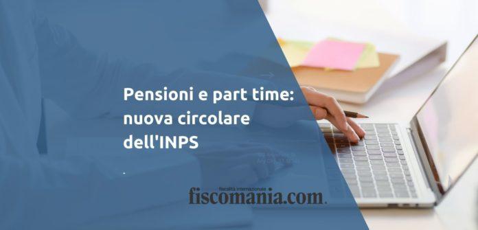 Pensioni e part time