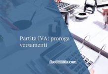 Proroga versamenti Partite IVA