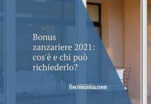 Bonus zanzariere