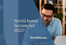 novità bonus facciate