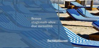 bonus stagionali