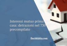 interessi mutuo prima casa