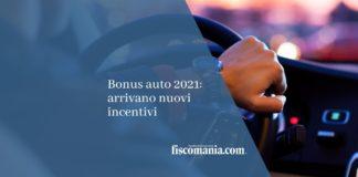 Bonus auto 2021