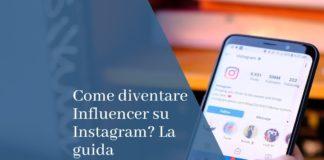 influencer su instagram