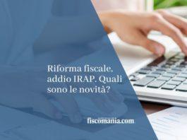 riforma fiscale