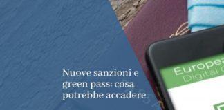 sanzioni green pass