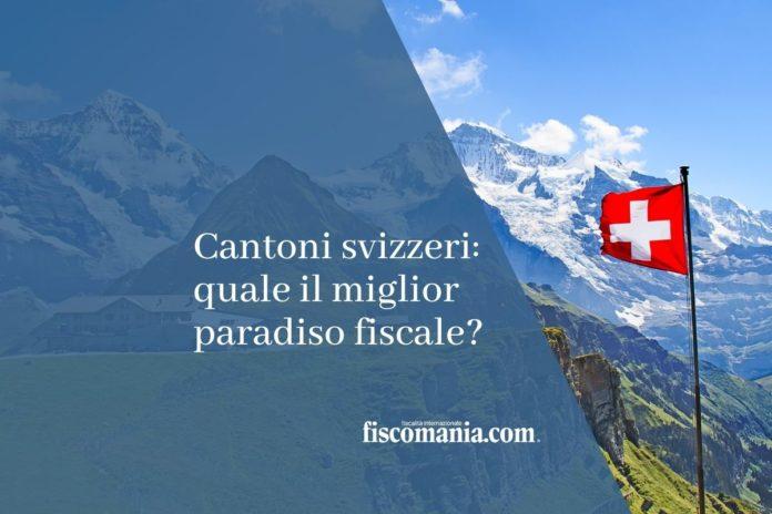 Tassazione cantoni svizzeri