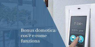 bonus domotica