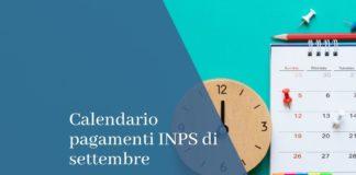 calendario pagamenti INPS settembre