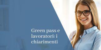 green pass e lavoratori