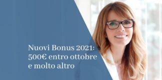 nuovi bonus 2021