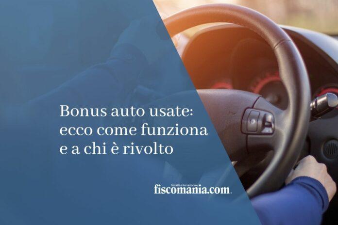 bonus auto usate