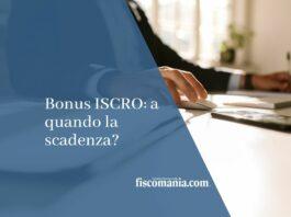 bonus iscro