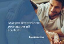 assegno temporaneo