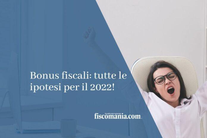 bonus fiscali