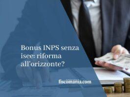 bonus inps senza isee