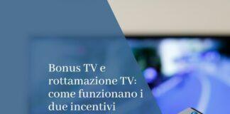 bonus tv e rottamazione tv