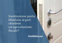 sostituzione porta blindata