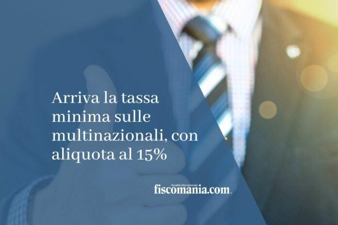 tassa minima multinazionali